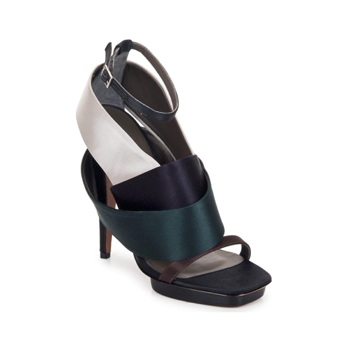 sandaler Kallisté NU-PIED 5801 Silver