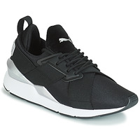 Skor Dam Sneakers Puma WN MUSE SATIN II.BLACK Svart