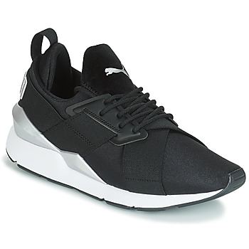 timeless design 1c01b 084c0 Skor Dam Sneakers Puma WN MUSE SATIN II.BLACK Svart