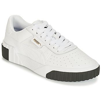 Skor Dam Sneakers Puma WN CALI FASHION.WH-BL Vit / Svart
