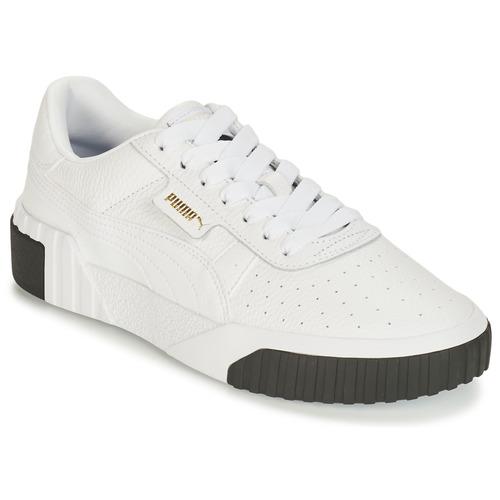 Skor Dam Sneakers Puma CALI Vit / Svart