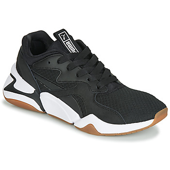 Skor Dam Sneakers Puma WN NOVA 90'S BLOC.BL-BL Svart