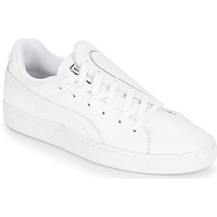 Skor Dam Sneakers Puma WN BASKET CRUSH EMBOSS.WH Vit