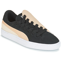 Skor Dam Sneakers Puma WN BASKET CRUSH PARIS.SILV Svart