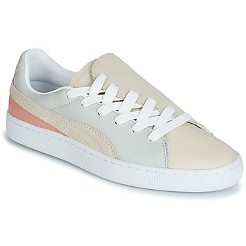 Skor Dam Sneakers Puma WN BASKET CRUSH PARIS.GRAY Beige