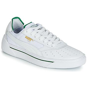 Skor Herr Sneakers Puma CALI.WH-AMAZON GREEN-WH Vit / Grön