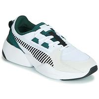 Skor Herr Sneakers Puma ZETA SUEDE.WHITE-PONDEROSA Vit