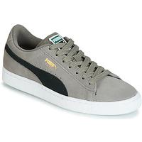 Skor Pojkar Sneakers Puma JR SUEDE CLASSIC.CHARCO-BL Grå