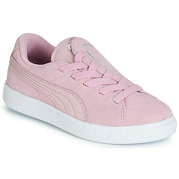 Skor Flickor Sneakers Puma PS SUEDE CRUSH AC.LILAC Lila