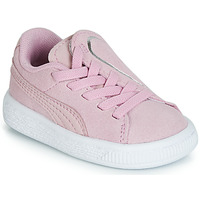 Skor Flickor Sneakers Puma INF SUEDE CRUSH AC.LILAC Lila