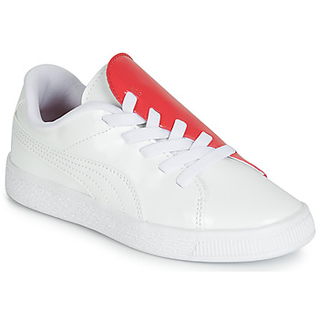 Skor Flickor Sneakers Puma PS BKT CRUSH PATENT AC.W-H Vit