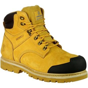 Skor Herr safety shoes Amblers 226 S3 WP Honung
