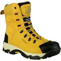 Skor Herr safety shoes Amblers FS998 Safety Zips Honung