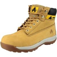 Skor Dam Boots Amblers FS102 Safety Honung