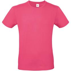 textil Herr T-shirts B And C TU01T Fuchsia