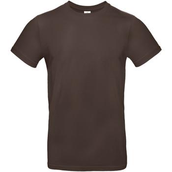 textil Herr T-shirts B And C TU03T Brun