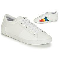 Skor Dam Sneakers Le Coq Sportif FLAG Vit / Flerfärgad
