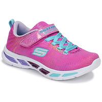 Skor Flickor Sneakers Skechers LITEBEAMS Rosa