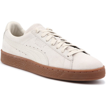 Skor Herr Sneakers Puma Lifestyle shoes  Suede Classic Natural Warmth 363869 02 beige