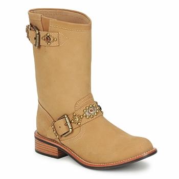 Skor Dam Boots Miss L'Fire MCQUEEN Beige