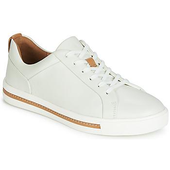 Skor Dam Sneakers Clarks UN MAUI LACE Vit
