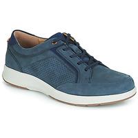 Skor Herr Sneakers Clarks UN TRAIL FORM Marin