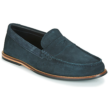 Skor Herr Loafers Clarks WHITLEY FREE Marin