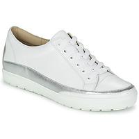 Skor Dam Sneakers Caprice BUSCETI Vit / Silverfärgad