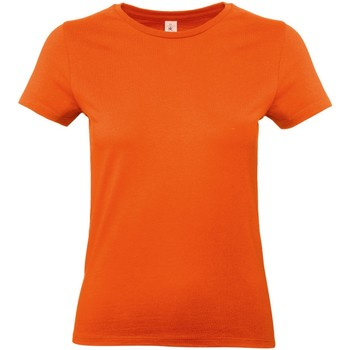 textil Dam T-shirts B And C E190 Orange