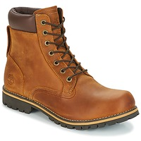 Skor Herr Boots Timberland EK RUGGED 6 IN PLAIN TOE BOOT Brun / Mörk