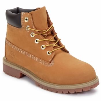 Skor Barn Boots Timberland 6 IN PREMIUM WP BOOT Brun