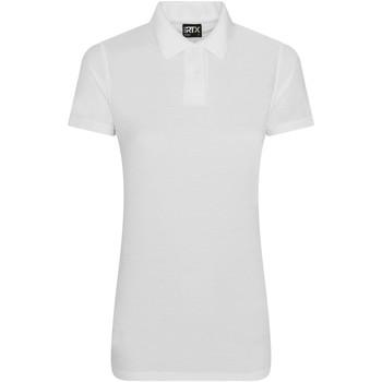 textil Dam Kortärmade pikétröjor Pro Rtx RX05F Vit