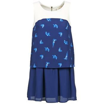 textil Dam Korta klänningar Naf Naf LIBAIN Marin