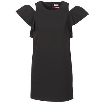 textil Dam Korta klänningar Naf Naf X-KARLI Svart