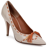 Skor Dam Pumps Michel Perry CAMOSCIO Dust