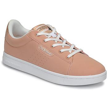 Skor Flickor Sneakers Kappa TCHOURI LACE Rosa / Vit