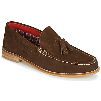 Skor Herr Loafers Base London TEMPUS Brun