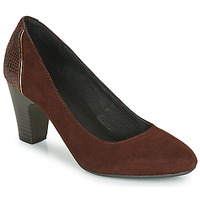 Skor Dam Pumps André PHILIPINE Bordeaux