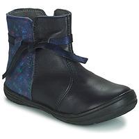 Skor Barn Boots André FLOTTE Marin