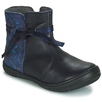 Skor Flickor Boots André FLOTTE Marin