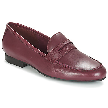 Skor Dam Loafers André TIM Bordeaux