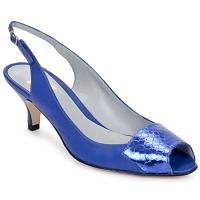 Skor Dam Sandaler Fred Marzo LILI SLING Electric-blue