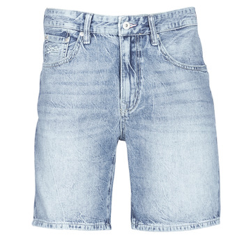 textil Herr Shorts / Bermudas Superdry CONOR TAPER SHORT Blå