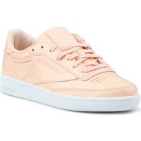 Skor Dam Sneakers Reebok Sport Club C 85 Patent BS9778 orange