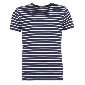 textil Herr T-shirts Armor Lux TALOPO Marin / Vit