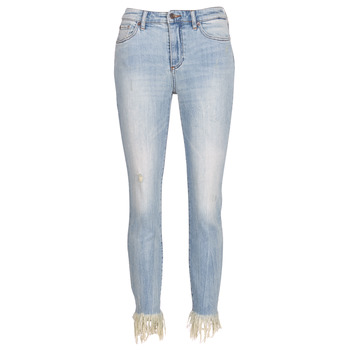 textil Dam Jeans 3/4 & 7/8 EAX à supprimer HELBAIRI Blå / Ljus