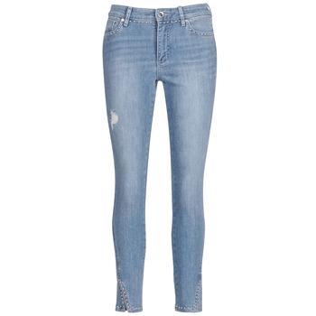 textil Dam Jeans 3/4 & 7/8 Armani Exchange HELBIRI Blå / Ljus
