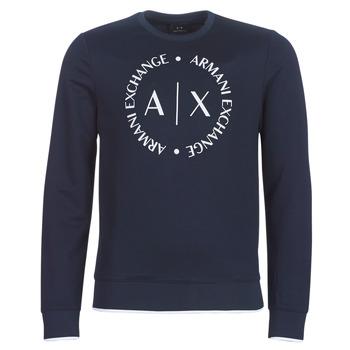 textil Herr Sweatshirts Armani Exchange HERBARI Svart
