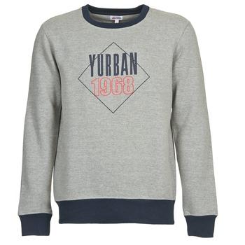 textil Herr Sweatshirts Yurban CEDRIC Grå