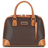 Väskor Dam Handväskor med kort rem Ted Lapidus FIDELIO Brun / Cognac